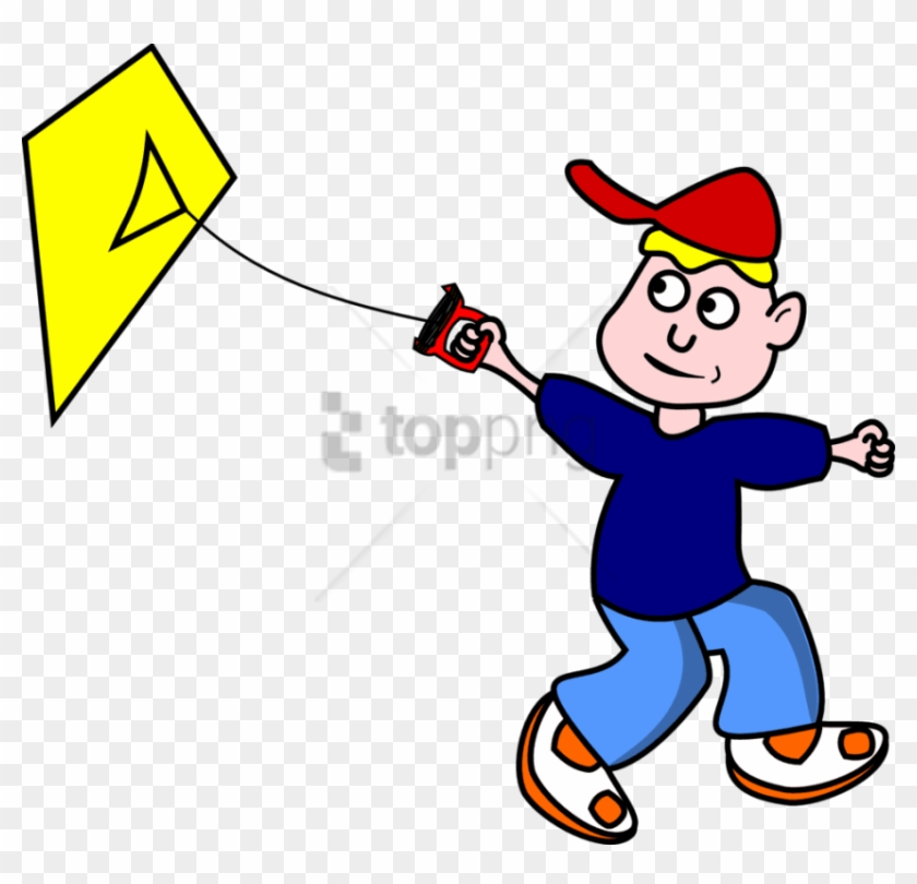 Free Png Two Boy Friends Cartoon Flying A Kite Png Animated Fly