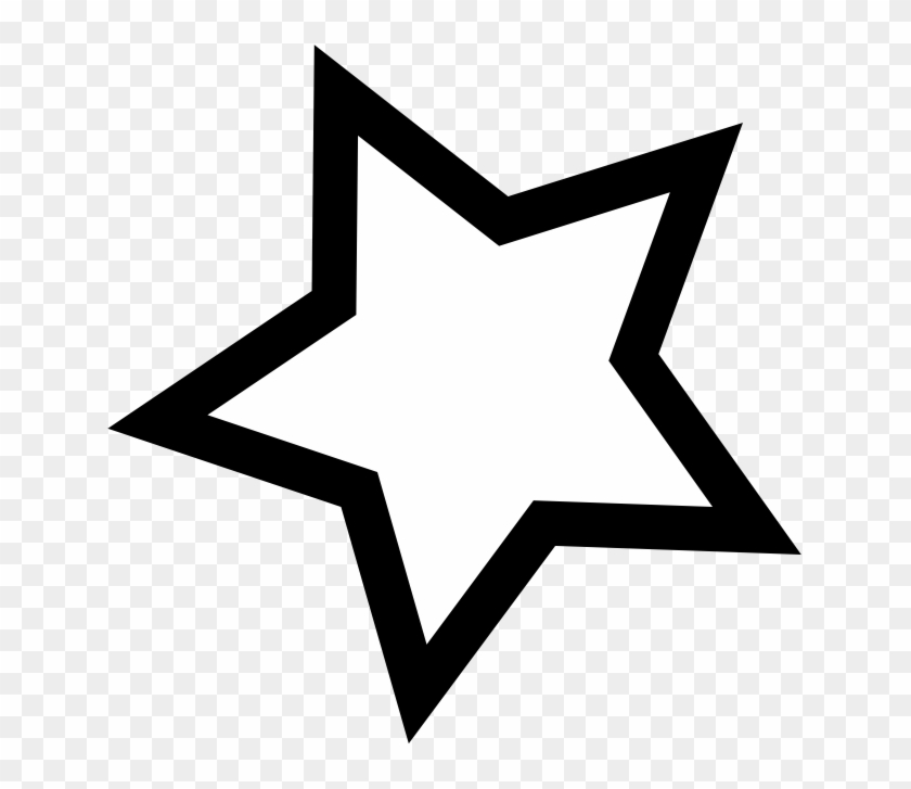 Звезды картинки черно-белые