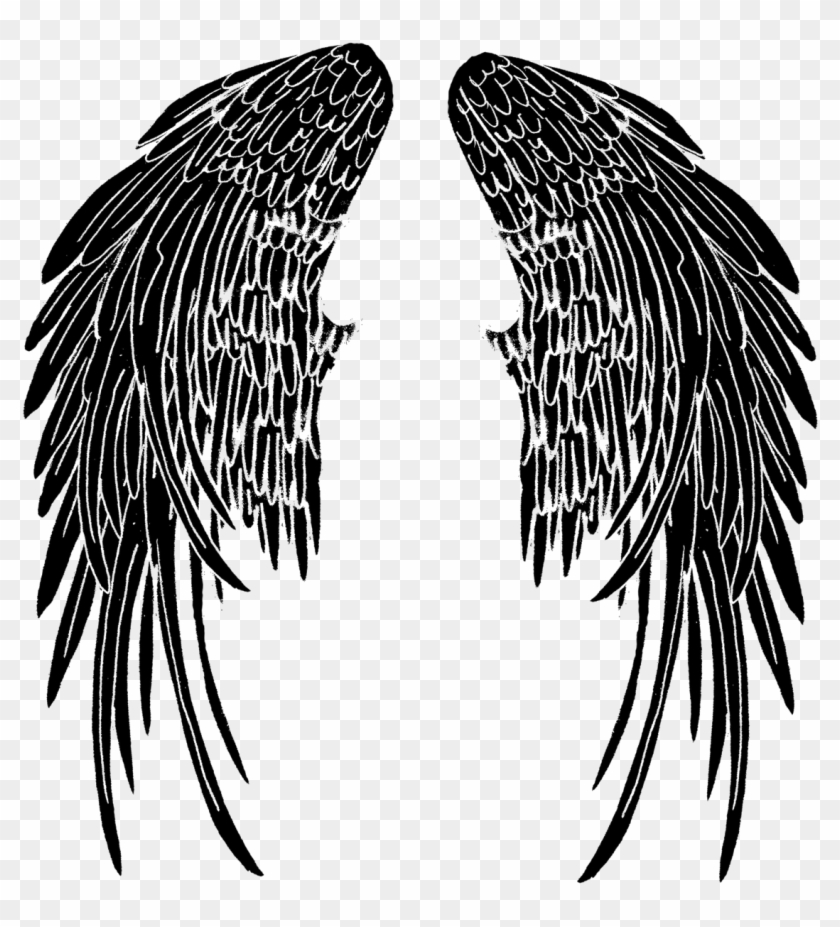 Wings Tattoo Png Pic - My Brother Is My Guardian Angel ...