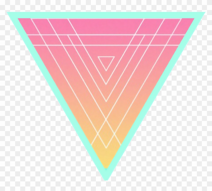 geometric #triangle #shapes #retro #80s #pastel#freetoedit