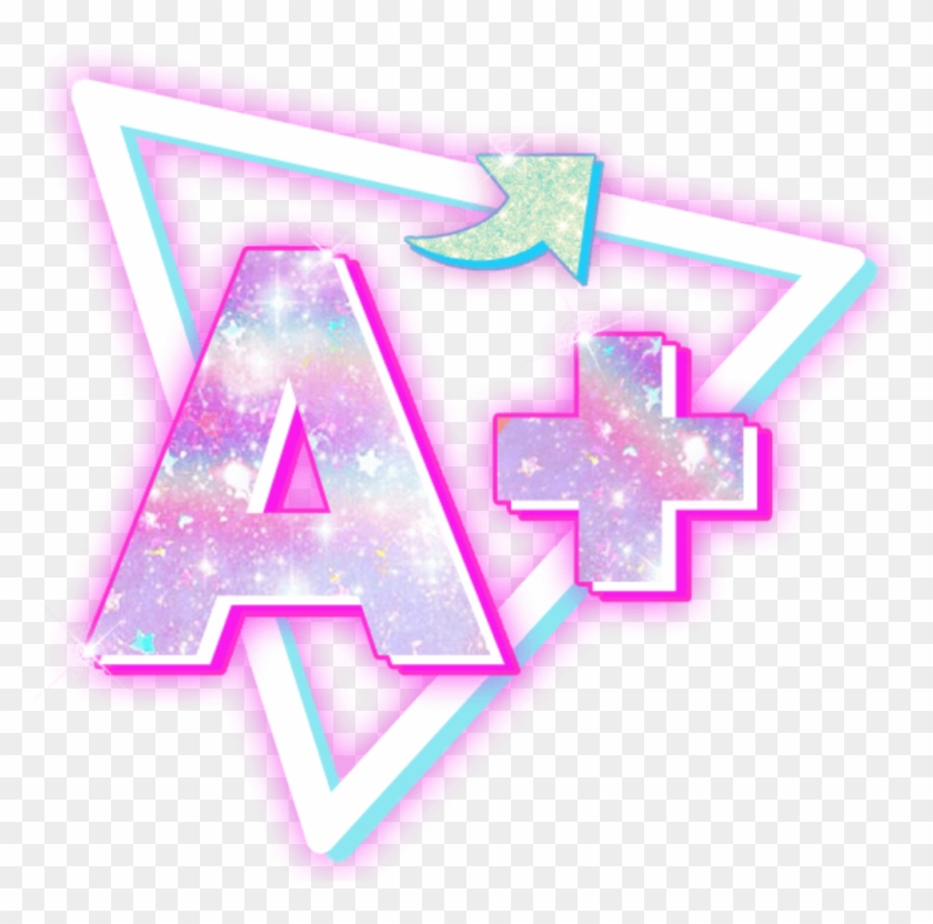 retro #80s #80s #80sstyle #a #80sbaby - Triangle, HD Png