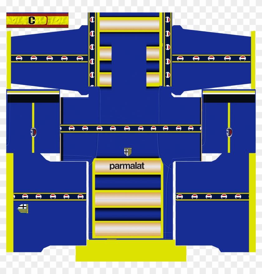 Kit Dream League Soccer Parma, HD Png Download - 2048x2048(#4698977
