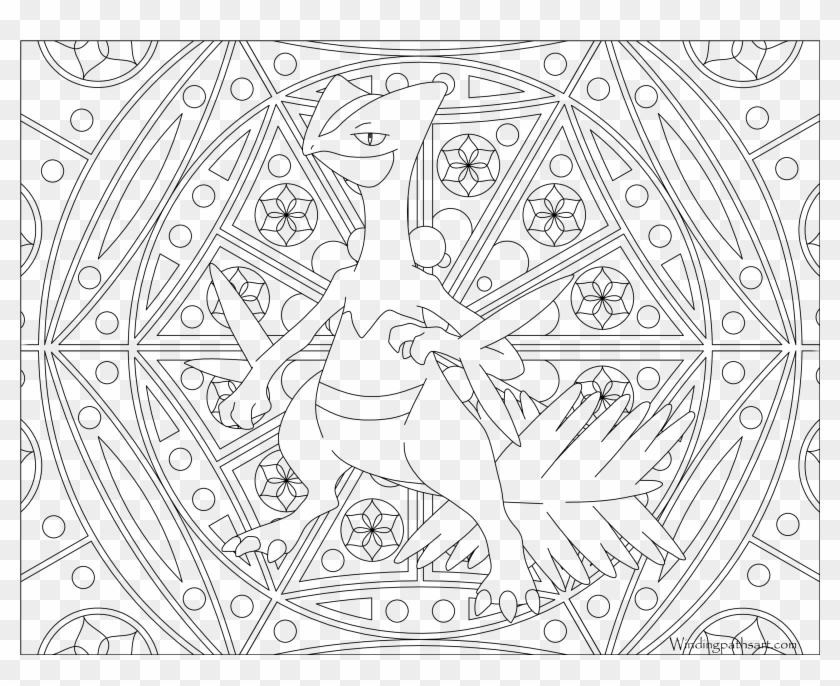 Adult - Pokemon Cool Coloring Pages, HD Png Download - 3300x2550(#4704732)  - PngFind