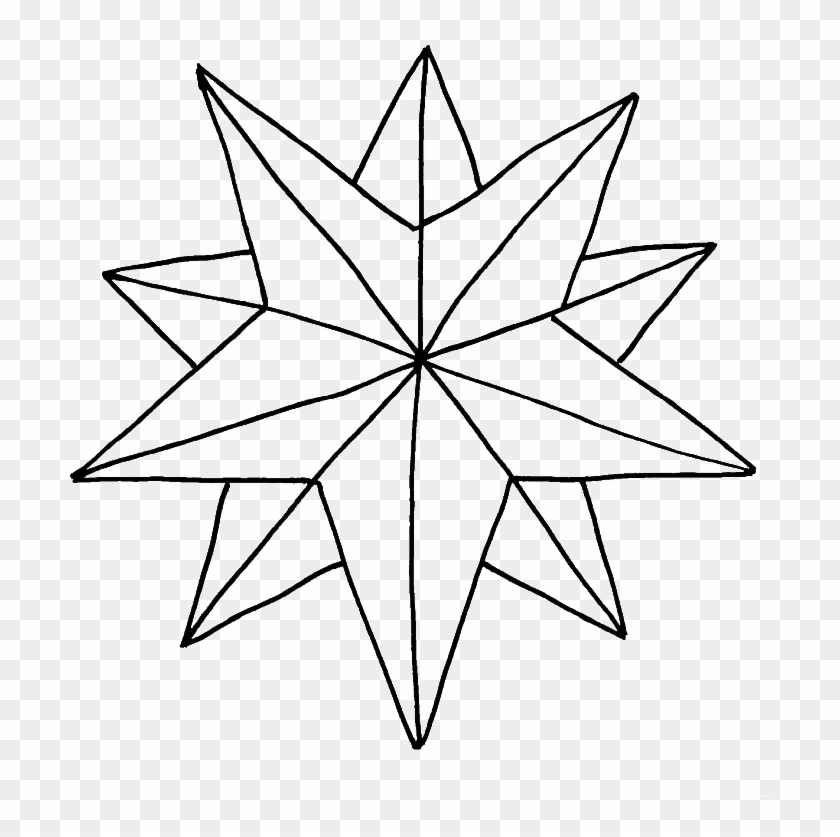 410 Coloring Pages Christmas Star Download Free Images