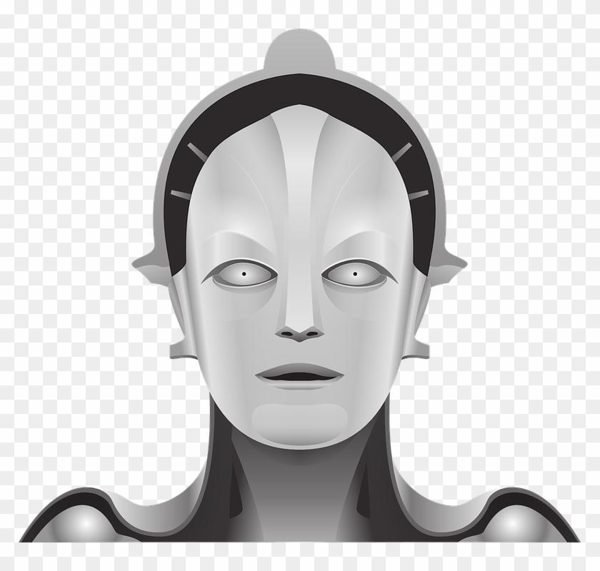"Wanna ""sext"" With A Robot - Metropolis 3d Model Robot Maria"