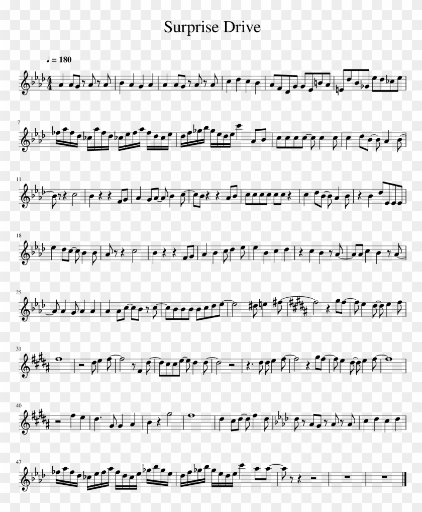 Uploaded On May 10, - Believer Trumpet Sheet Music, HD Png