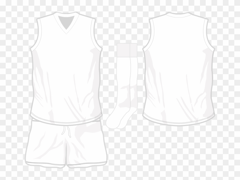 Basketball Jersey Outline Template Afl Jersey Photoshop Template Hd Png Download 669x551 4785563 Pngfind