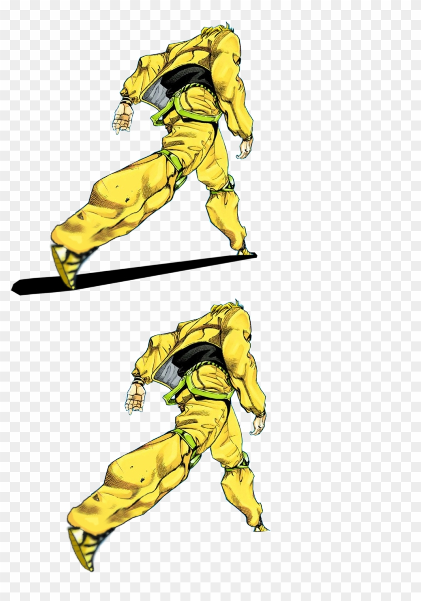 Anime Part 3dio - Dio Walking Meme Template, HD Png Download