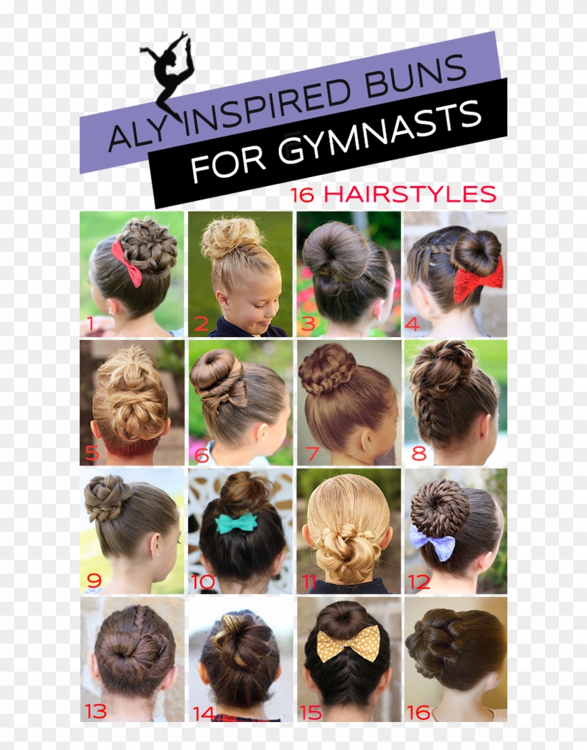 Gymnastics Competition Hair