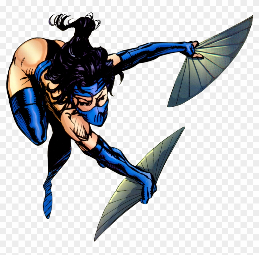 Kitana From Mortal Kombat 2 Art - Kitana Mortal Kombat Comic