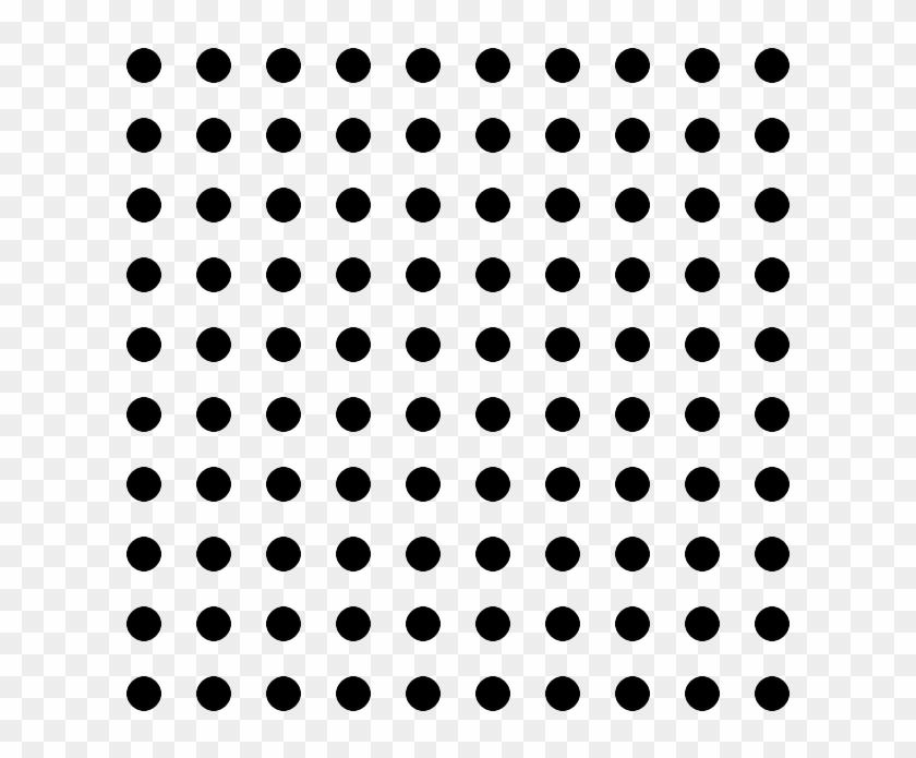 Black Dot Png - Dot Pattern Png, Transparent Png - 640x640(#484484