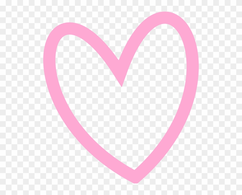 Pink Heart Clipart Png - Transparent Background Heart