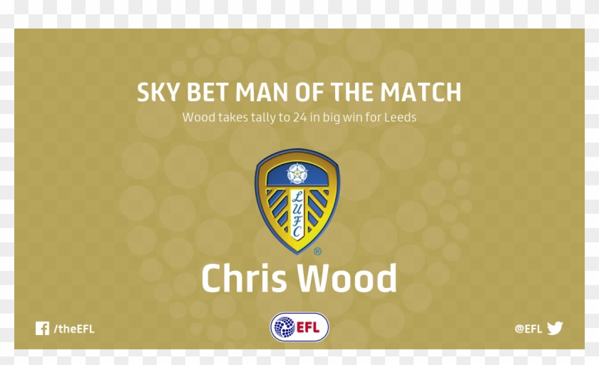 Sky Bet Championshipverified Account Leeds United Badge Hd Png Download 1200x675 4801206 Pngfind