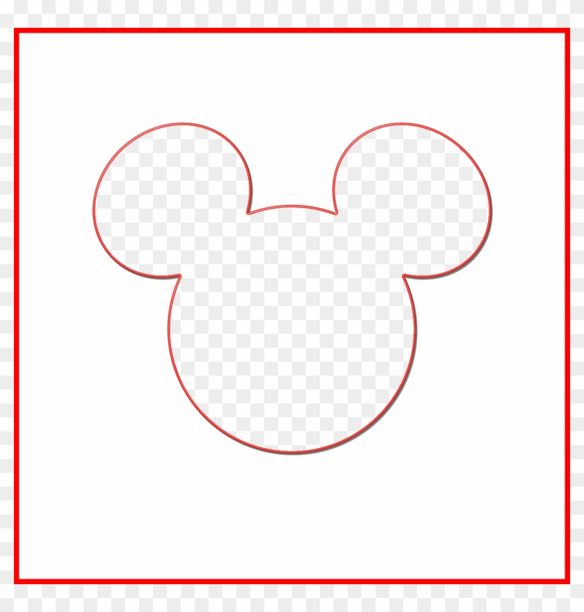 Mickey Head Outline Png 512951 Minnie Mouse Silhouette Svg Free Transparent Png 1630x1630 4814853 Pngfind