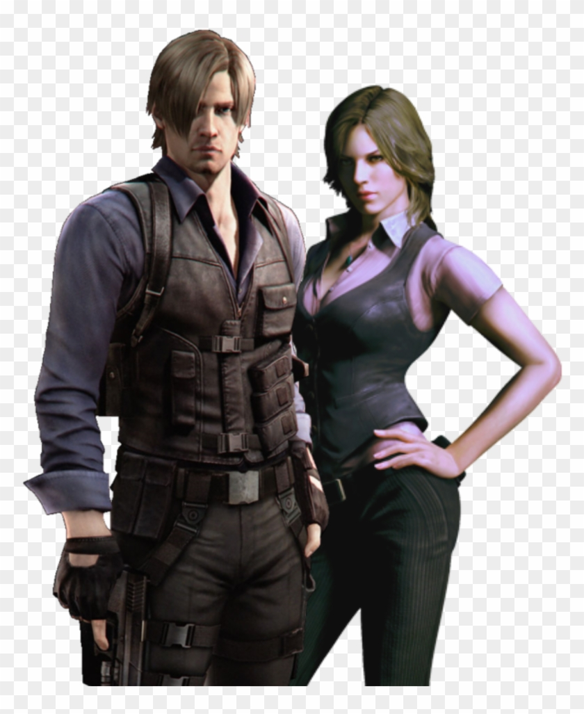Kennedy Transparent Background Png Resident Evil 6 Leon Y Helena