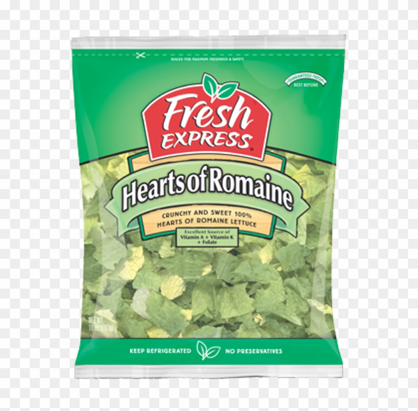 Bagged Hearts Of Romaine Salad Recalled Lettuce