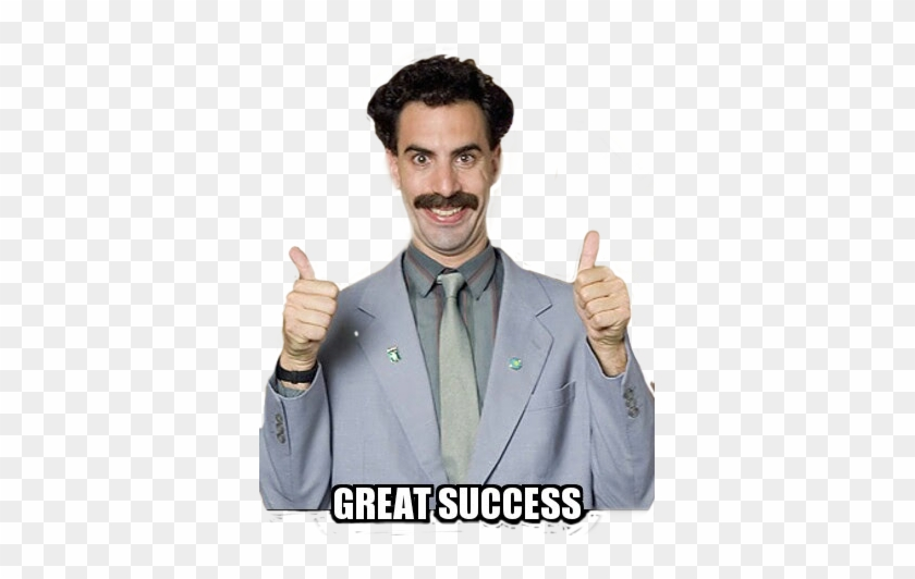 Borat Sticker - Funny First Day Of Work Meme, HD Png ...
