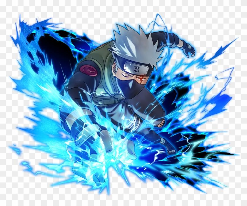 Kakashi - Naruto Blazing Kakashi Iron Resolve, HD Png Download