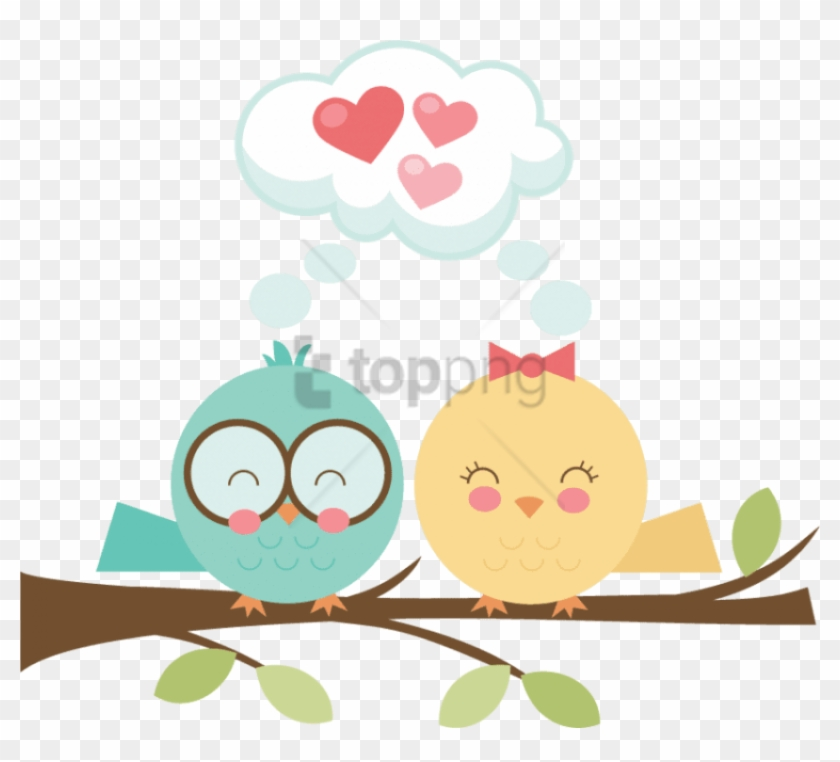 Free Png Download Clouds Birds Png Images Background - Cute Love