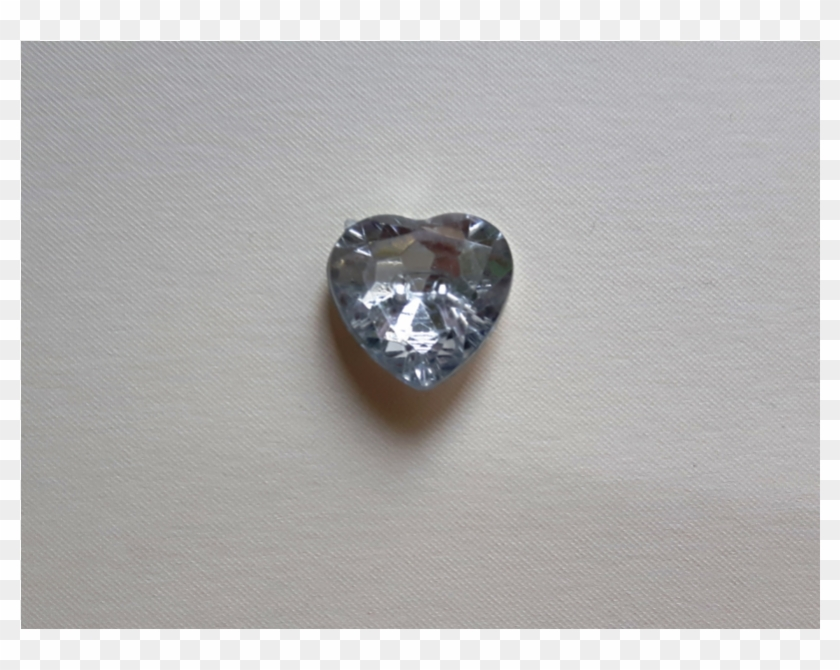 Button Crystal Heart-shaped, Size - Heart, HD Png Download - 800x800