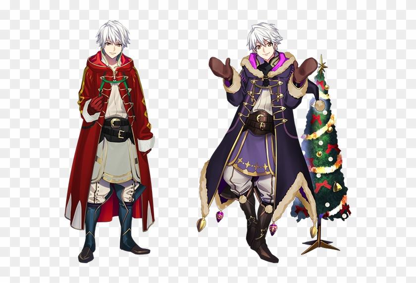 Fe Heroes Christmas.Fan Art Male Robin Fire Emblem Heroes Christmas Robin Hd