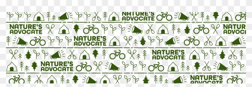 Nature's Advocate Icon Pattern - Graphic Design, HD Png Download