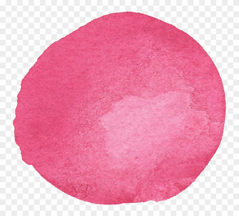 10 Watercolor Pink Circle Png Transparent Onlygfxcom Pink Paint Stroke Png Png Download 748x679 4878253 Pngfind
