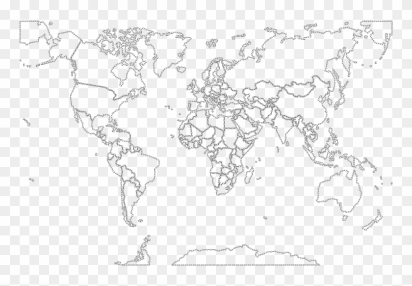 World Map Fill In Blank To Color X World Map Sketch Map Of The