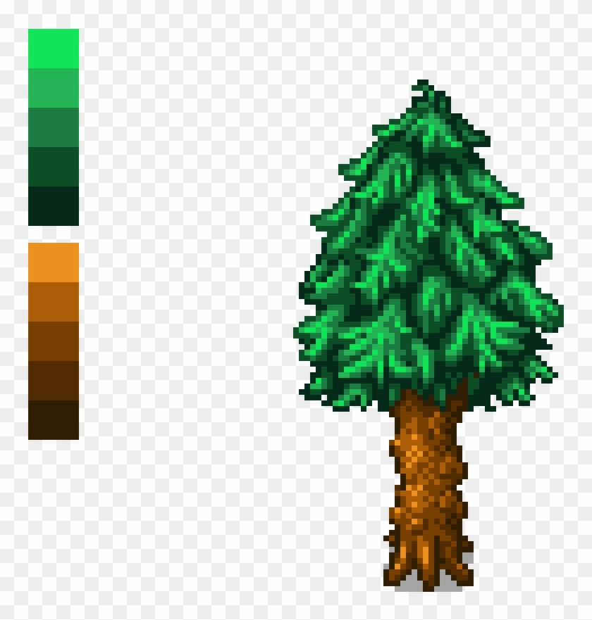 Stardew Valley Pine Tree Christmas Tree Hd Png Download 1200x1200 4887114 Pngfind