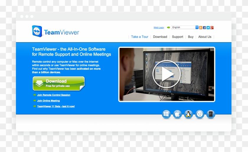 media/1511/1st - Teamviewer Download, HD Png Download - 799x479