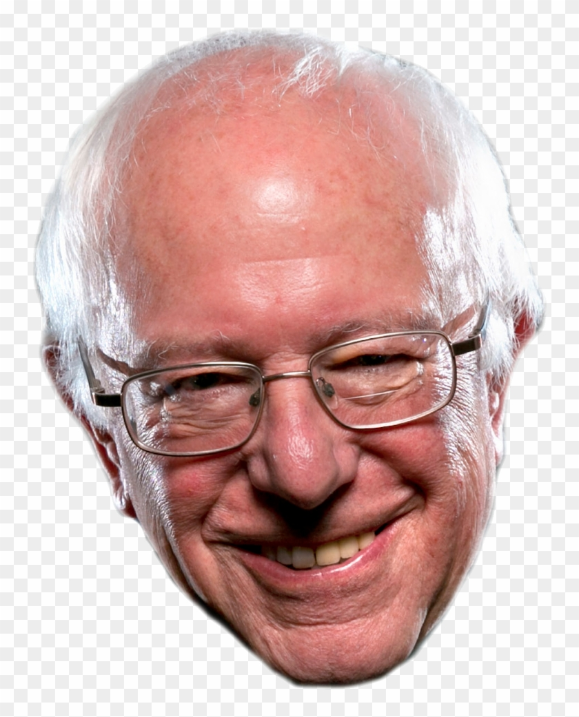 Create Your Pic Bernie Sanders Head Png Transparent Png 960x960 491509 Pngfind