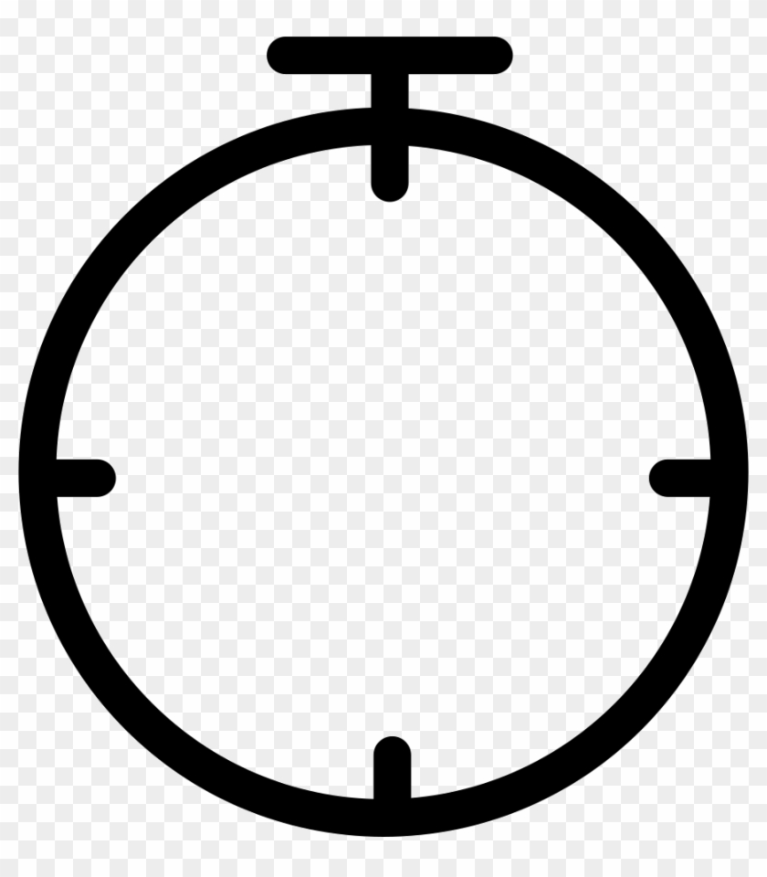 Png File Svg - Empty Clock Icon Png, Transparent Png