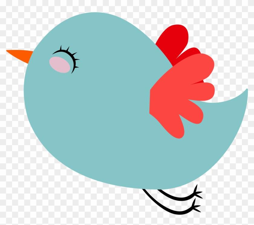 Twitter cute. Clipart bird email hd