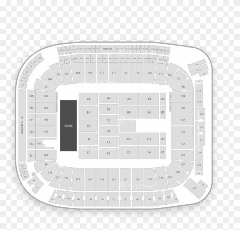 Stubhub Center Seating Chart Concert Map Seatgeek - Circle