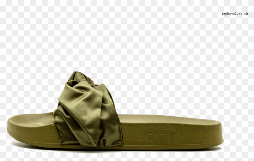 new concept cd836 55948 Puma Rihanna Fenty Bow Slide Wns