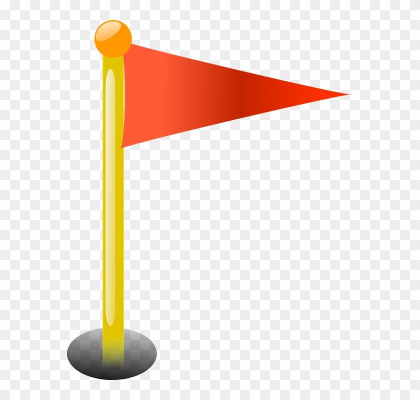 Sport Flag Free Vector Graphic On Pixabay - Golf Hole