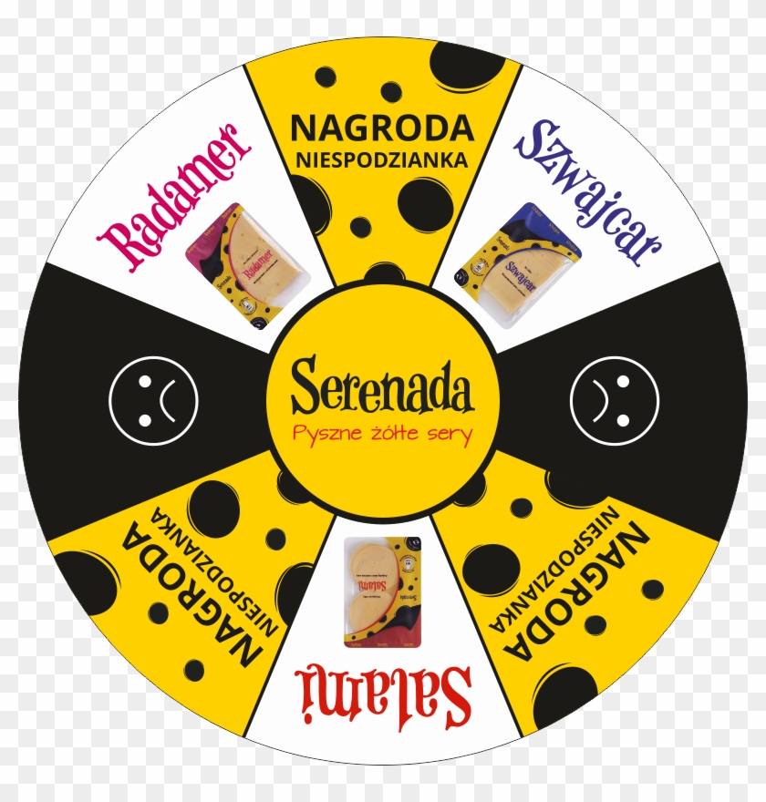 Wheel Of Fortune Template - Cd, HD Png Download - 800x800