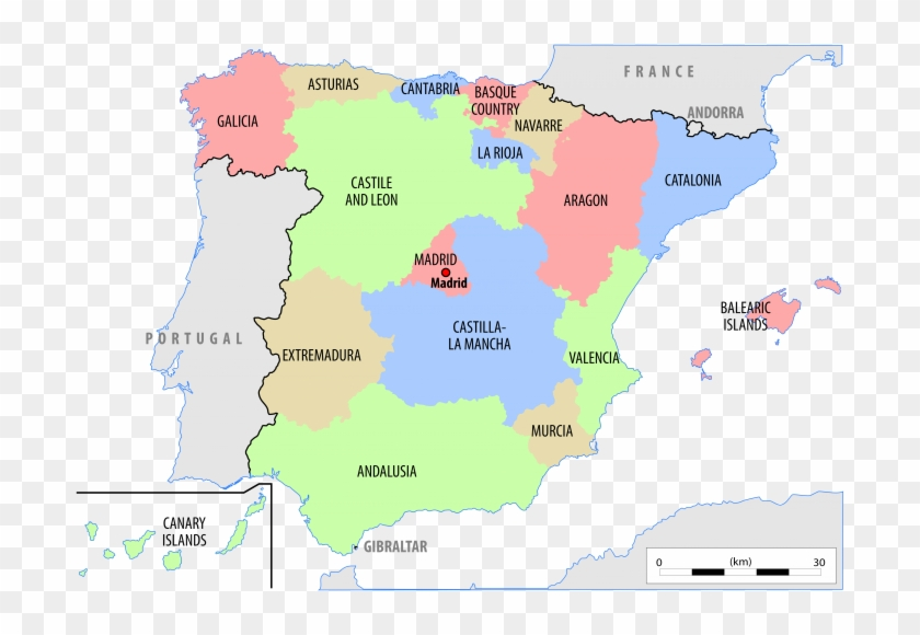 Map Of Spain With Regions.Map Of Spain Cities And Regions Fresh Spain Map Of Iberia Blank
