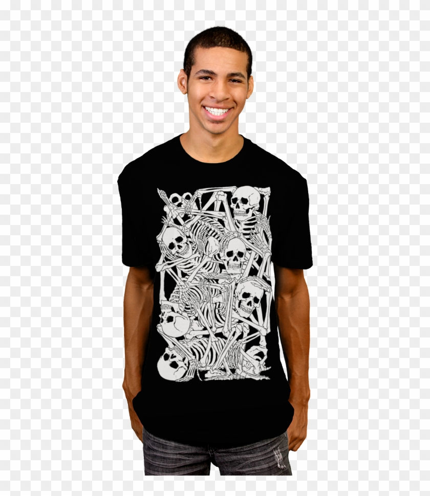 4dde40b33 Stacked T-shirt By Moutchy From Design By Humans - Deep Sea T Shirt ...