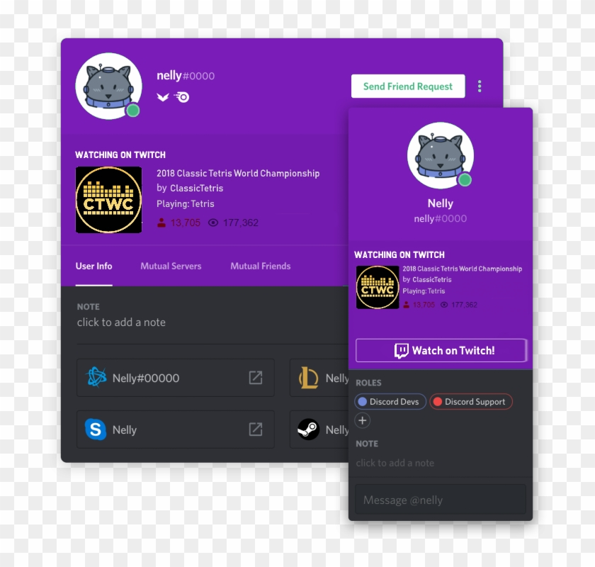 Mock-up Of Twitch Integration I Made For Fun - Connecting Spotify To