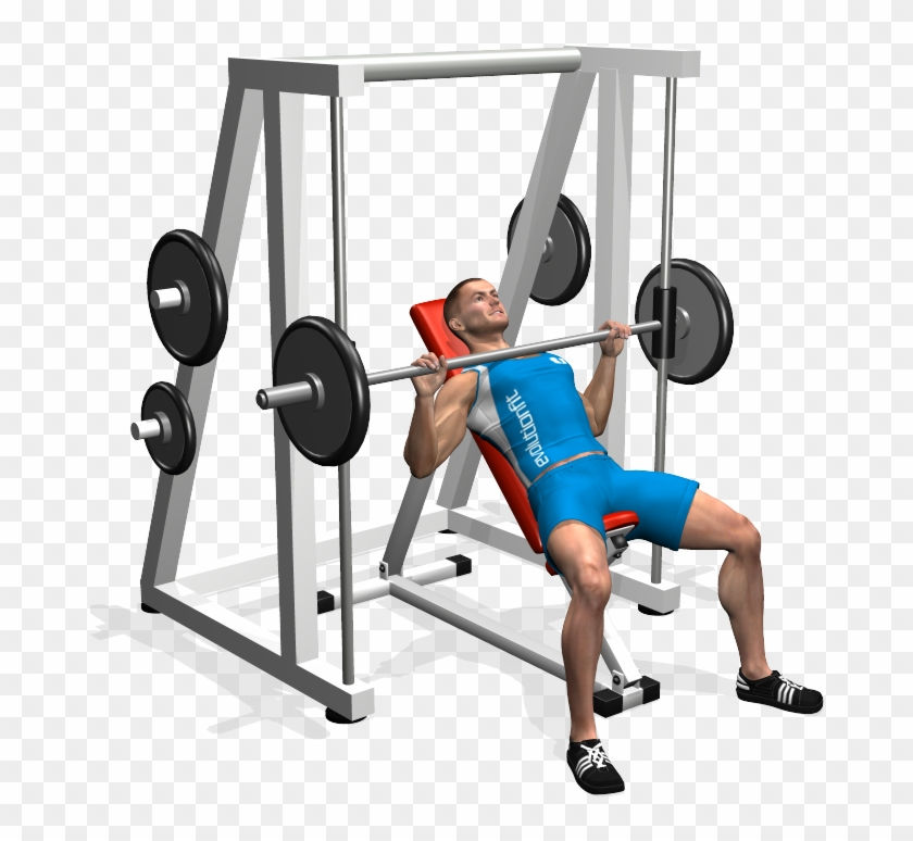 Pleasant Inclined Bench Press Smith Machine Involved Muscles Panca Camellatalisay Diy Chair Ideas Camellatalisaycom