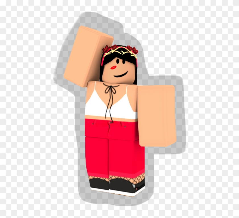 Roblox Girl With Shadow Cartoon Hd Png Download 1024x1024