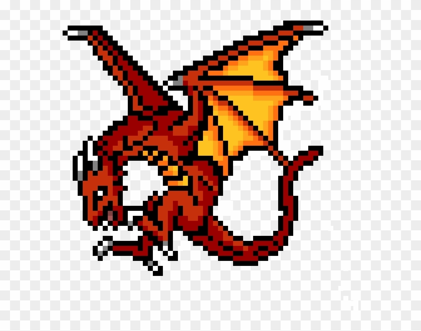 No Copyright Pixel Art Png Download Dragon Boss Pixel