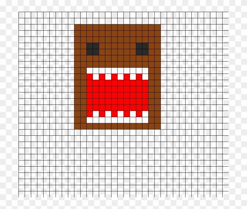 Domo Perler Bead Pattern Bead Sprite Car Logo Pixel Art Hd Png