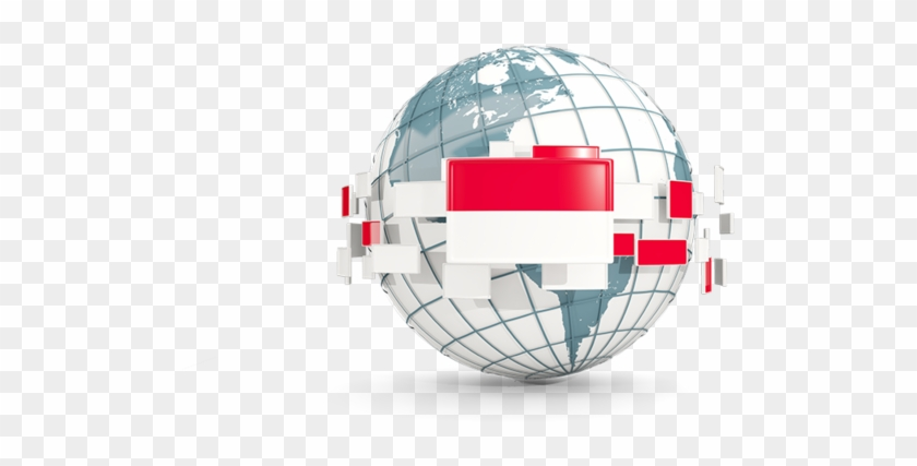 Indonesia Globe Icon, HD Png Download - 640x480(#4999462