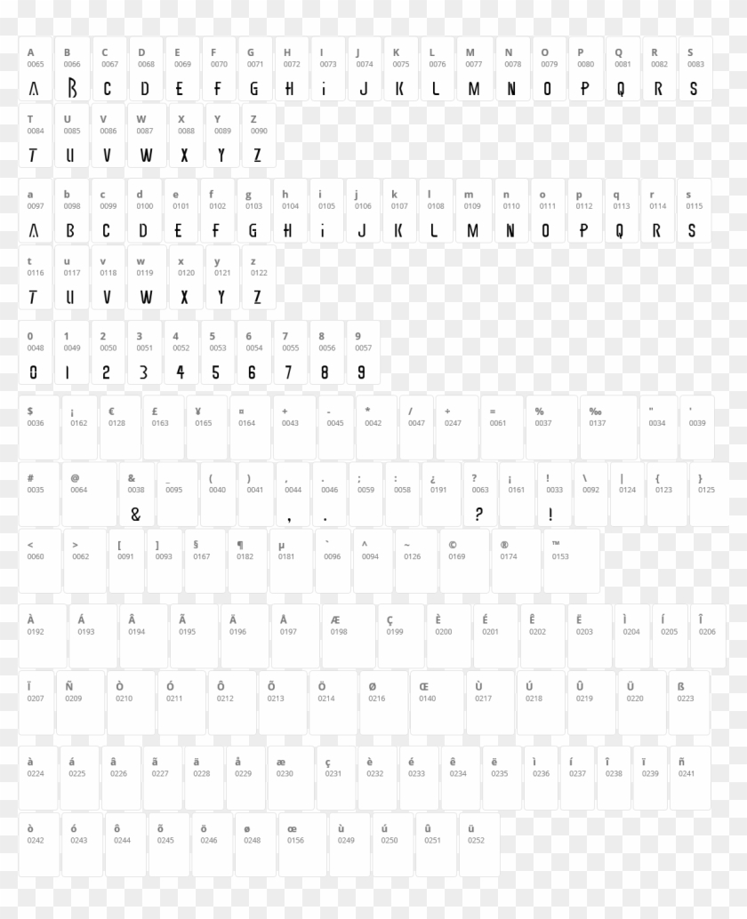 Earthbound Character Map - Secret Code Special Characters, HD Png