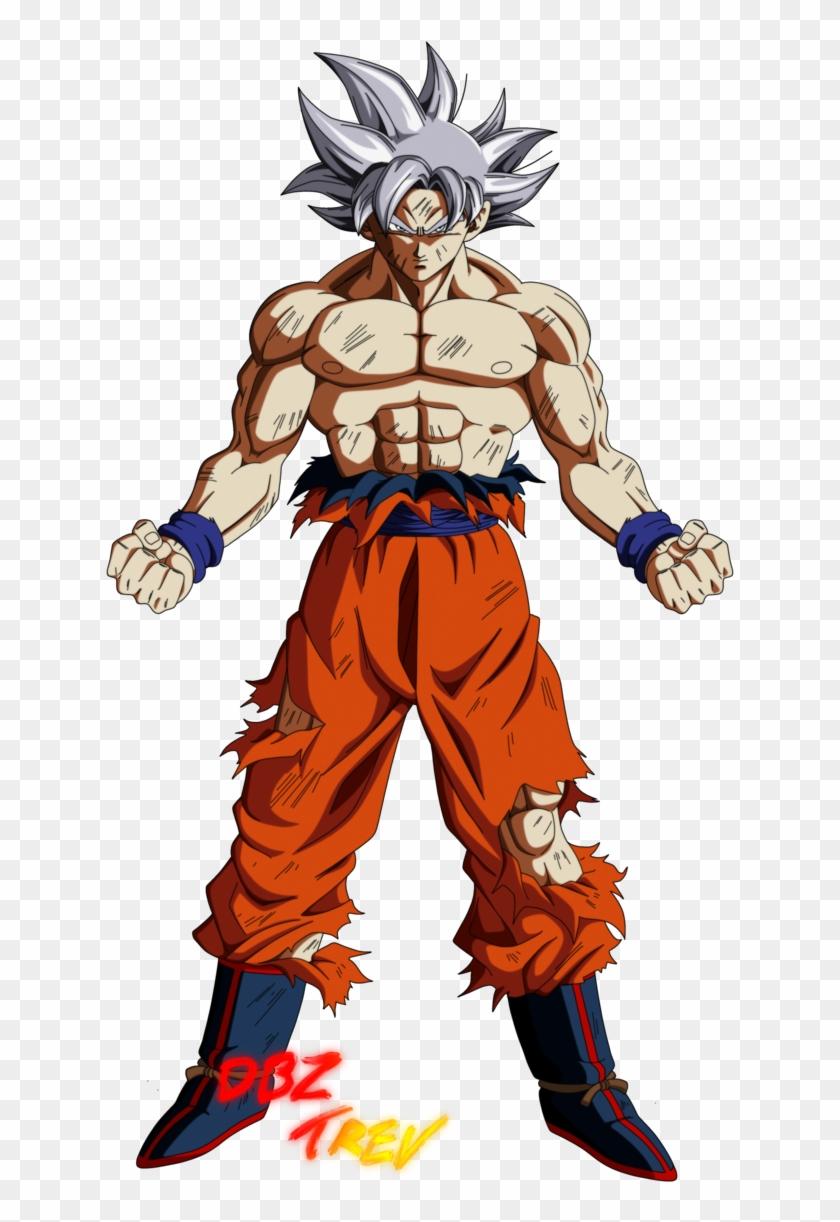 Goku Mastered Ultra Instinct By Dbztrev Super Goku Hd Png