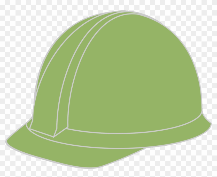 Safety Helmet Colour Code In Construction Green Hard Hat Png