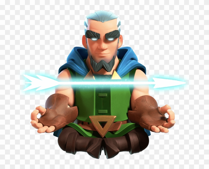 Magic Archer - Clash Royale Magic Archer, HD Png Download - 768x597