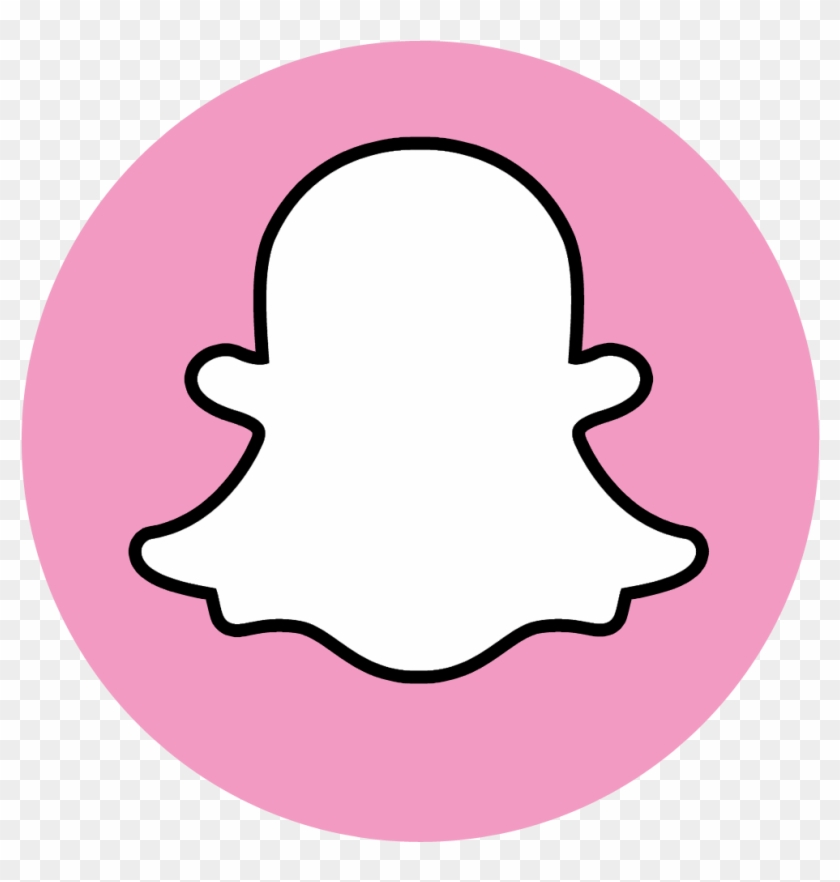 Snapchat pink gold. Logo png transparent download